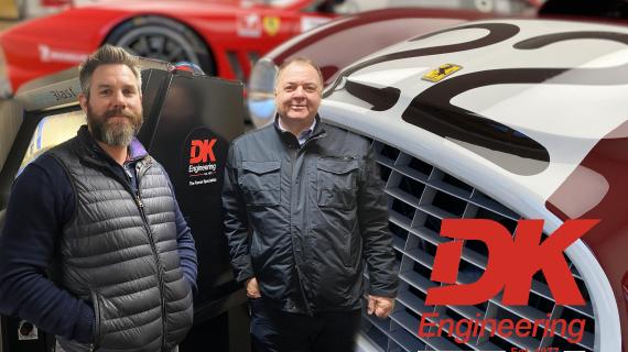 Vixen visits Ferrari Specialists DK Engineering